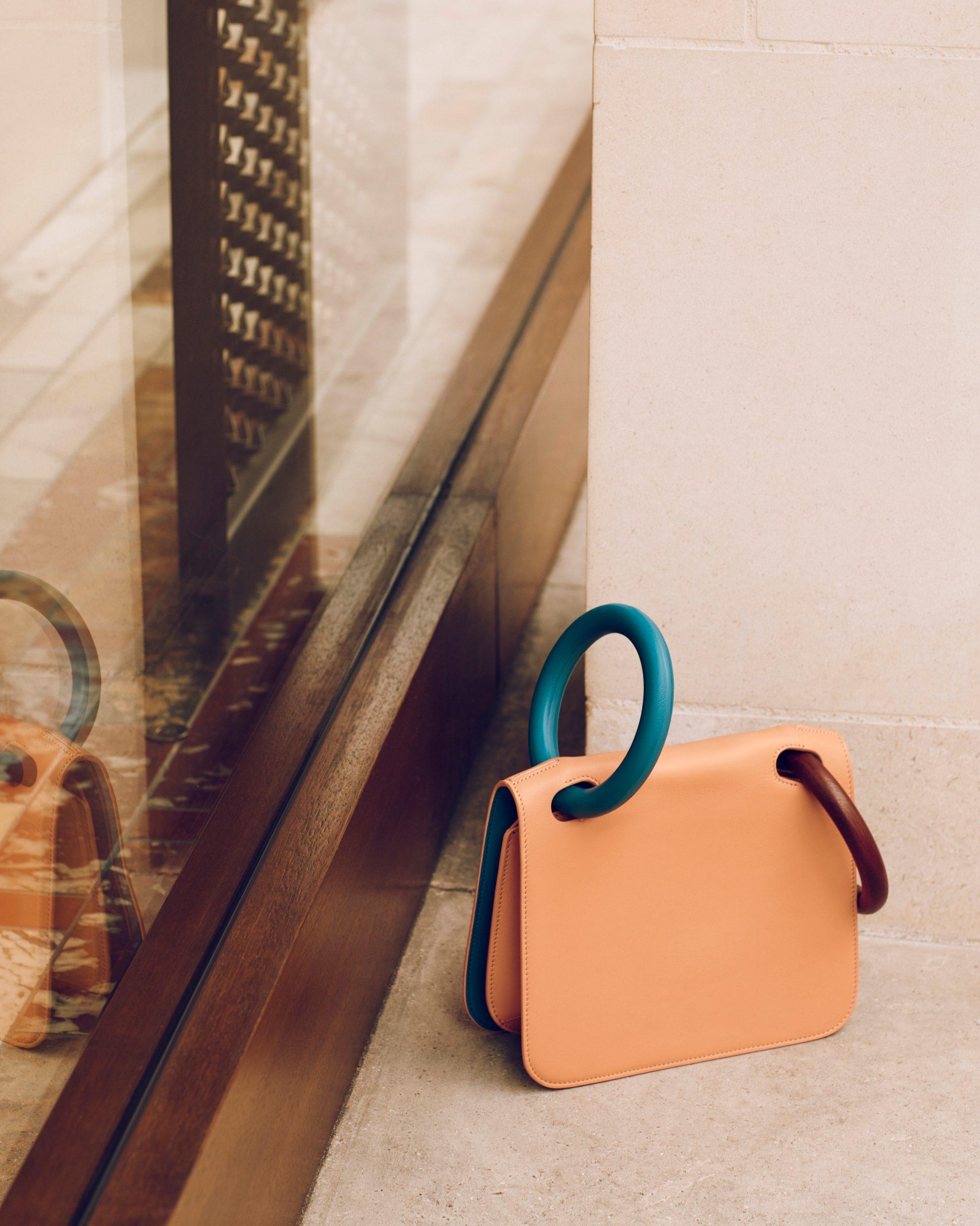 fashion still life of bag